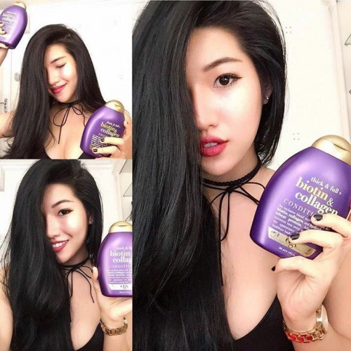 DẦU GỘI OGX Thick and Full Biotin and Collagen Shampoo